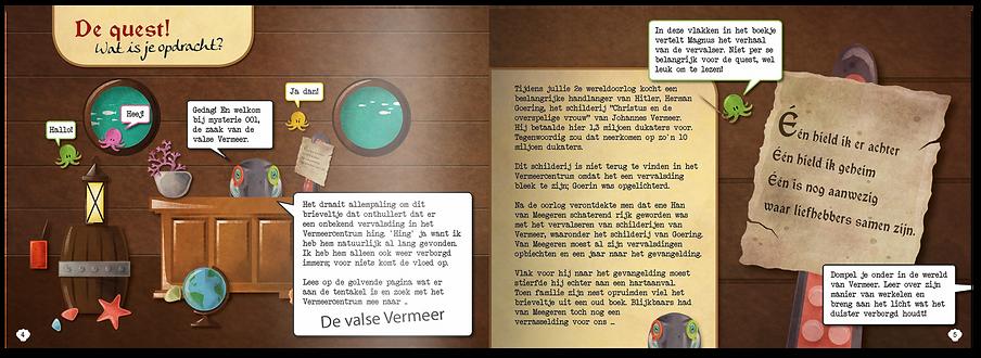 Opdracht Magnus Museum de valse Vermeer Peerdrops