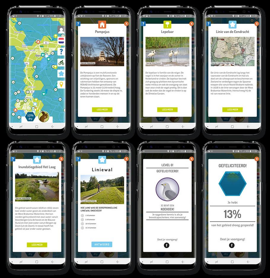 App West Brabantse Waterlinie Peerdrops