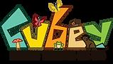 Cubey puzzles Oku Peerdrops logo
