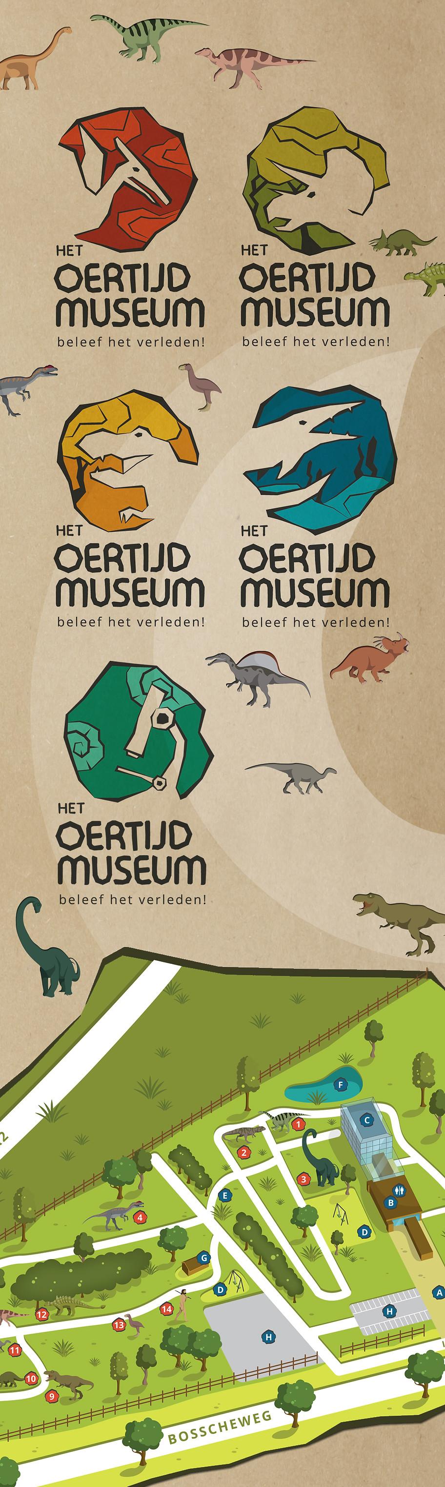 Plattegrond Het Oertijdmuseum Peerdrops