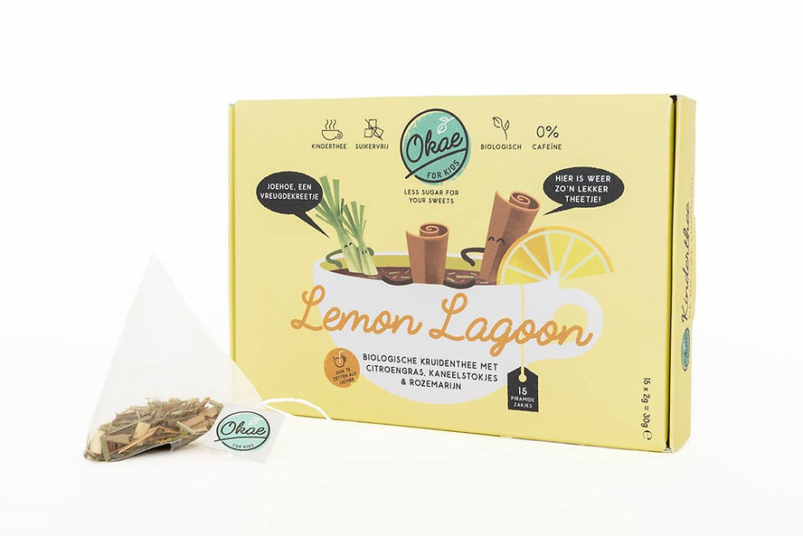 Lemon Lagoon Okae for Kids thee