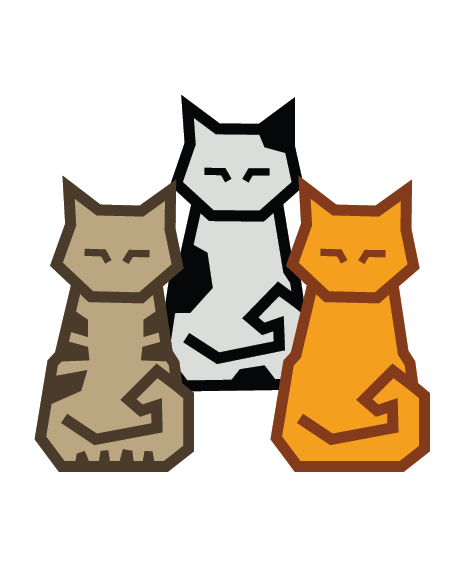 Cubey Colourful Cats