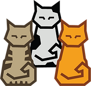 Cubey puzzles Oku Peerdrops Colourful Cats