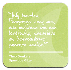 quote speelbos Gilze Peerdrops
