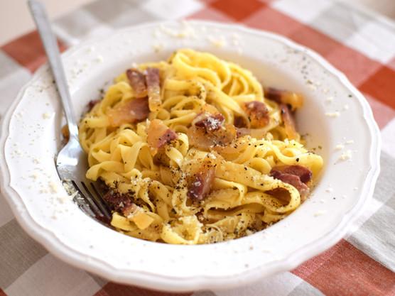 Bye-bye winter or how not to rape a pasta recipe