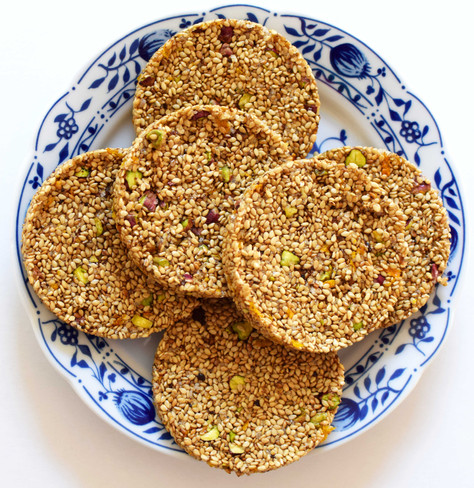 Pasteli, sweet snack as real food