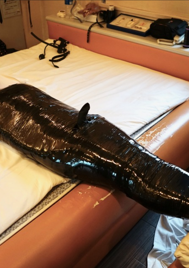 Mummification by Japanese Mistress Chiaki