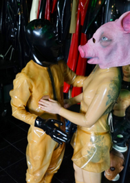 BDSM - Latex Session