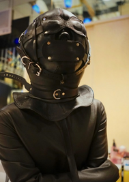 Leather Fetish Mask