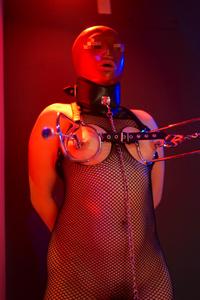 Latex girl slave bdsm
