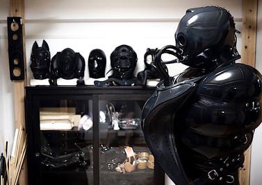 BDSM - Latex Fetish Inflatable