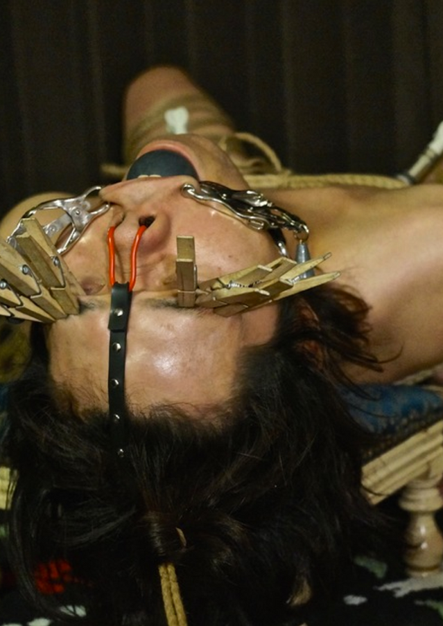 Face Torture Fetish by Japanese Domme Chiaki
