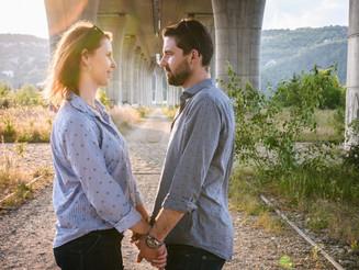 Když fotografové skončí pod mostem