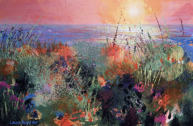 Coastal Sunset acrylic.jpg