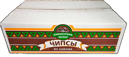 """Чипсы из лаваша """"Кавказские застолья"""" 1 кг."""