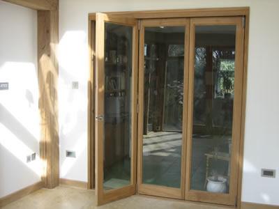 External view with door open