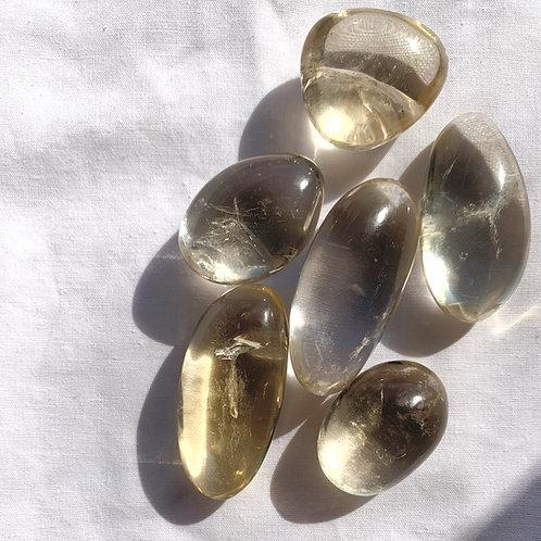Citrine (Natural) Tumble   Small