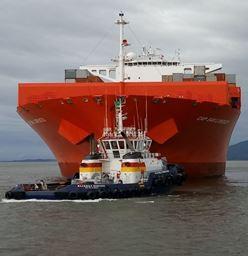 Primeiro rebocador portuário da Aliança começa a operar  no Porto de Itapoá (SC)