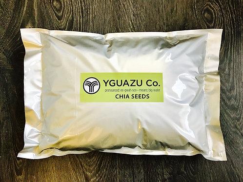 YguazuCo. Chia Seeds 5Kilos (11pounds)