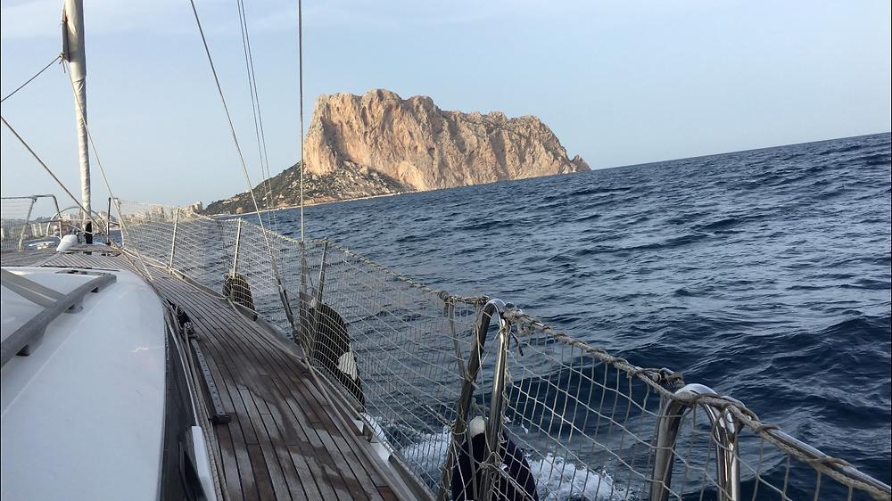 Calpe Rock - Penon de Ifach (in Spanish)