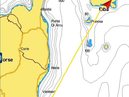 2018-07-19 Golfe de Pinarellu, Corsica > Golfo della Lacona, Elba