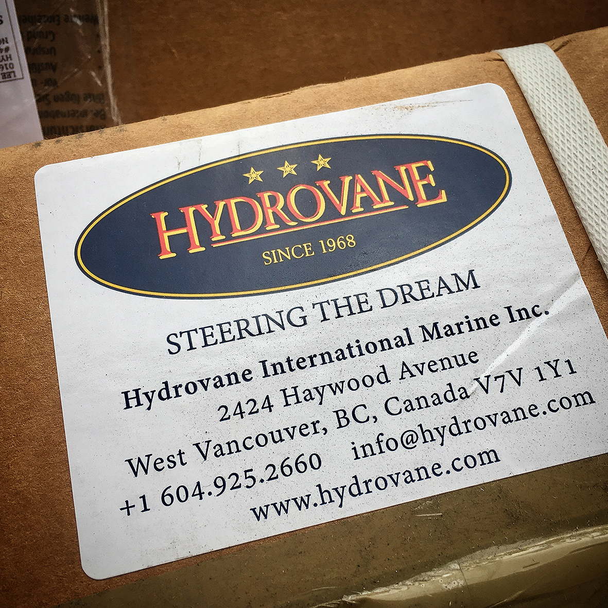 Hydrovane Steering The Dream