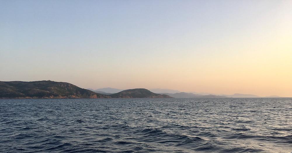 Corsica sunrise