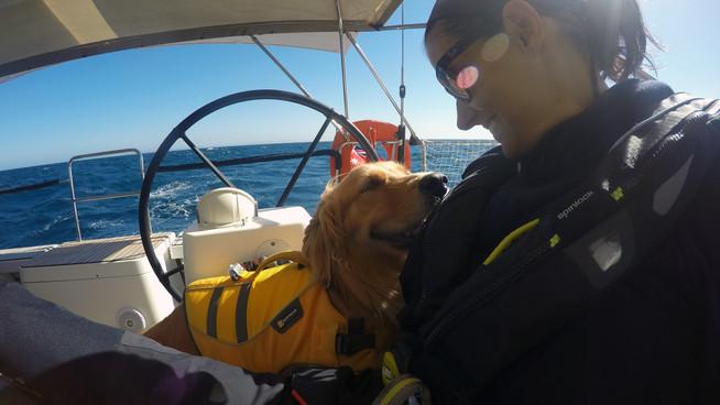 Finally Ella goes sailing
