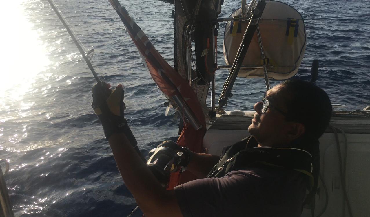 John fishing Yellowfin tuna
