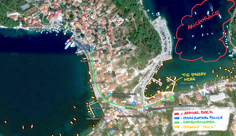 Cavtat map