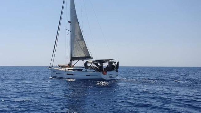 A Mad-Dash accross the Eastern Mediterranean Sea, Tunisia - Turkey non-stop