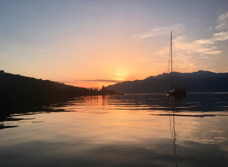 Montenegro, Tivat - Check-out and duty-free fuel