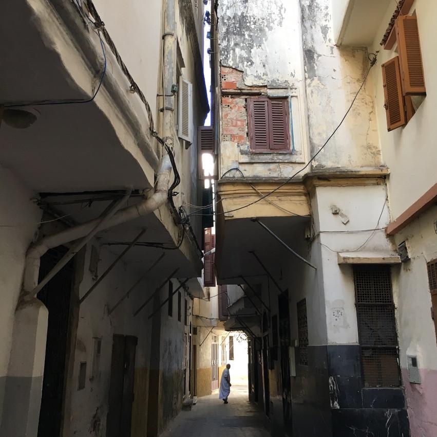 Narrow streets of the Medina