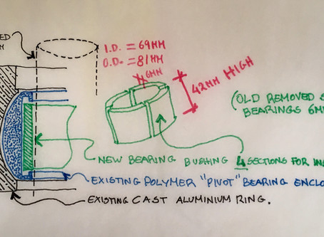 How we replaced our seized rudder bearing assembly (part 1)