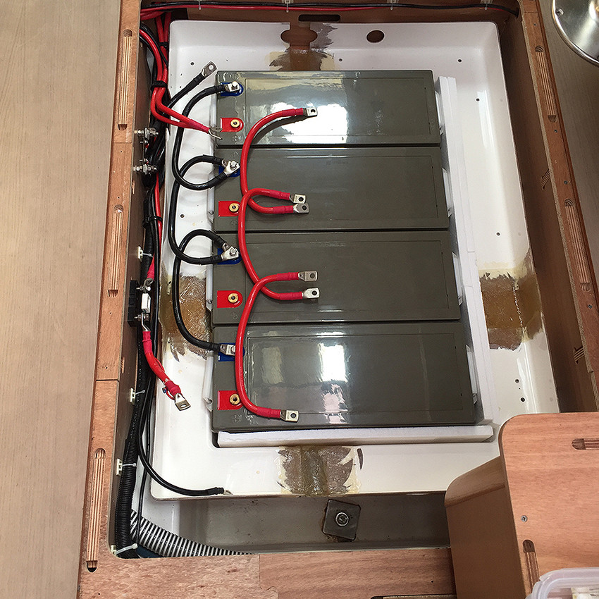 12v cable installation