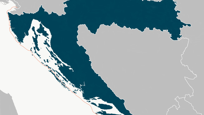 Sailing to the end of the Adriatic Sea