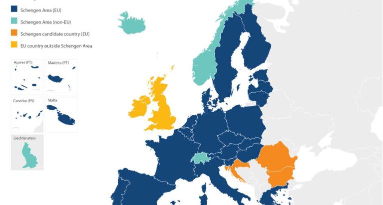Australia Visa waiver bilateral agreements in Schengen space