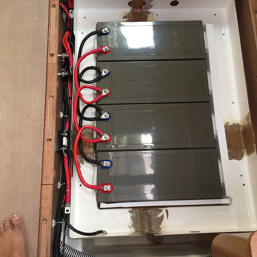 New battery bank