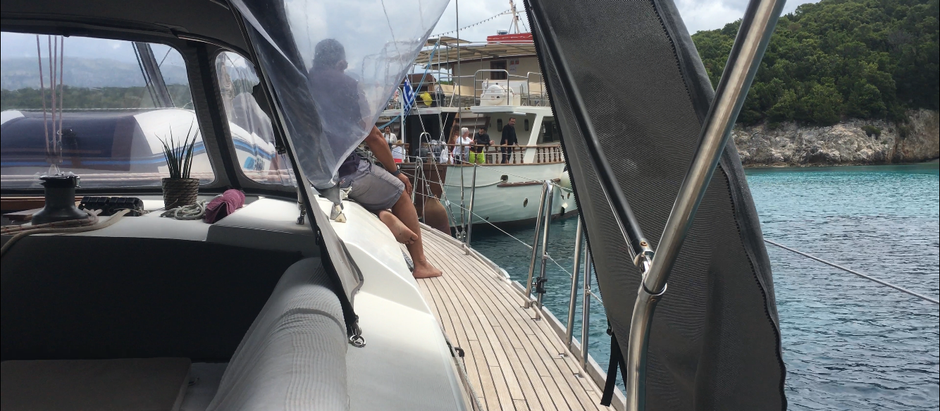 Hit by a Greek 70ft tour boat