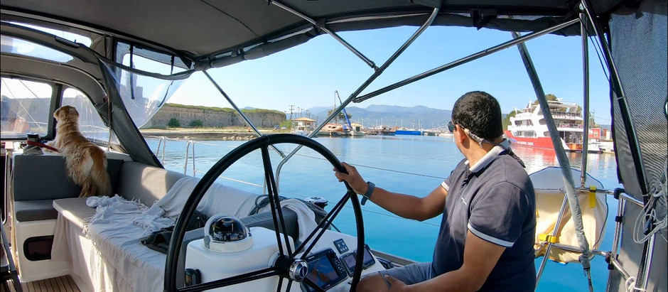2019-04-20 Preveza > Nidri, Lefkada Island (via Lefkas channel), Greece