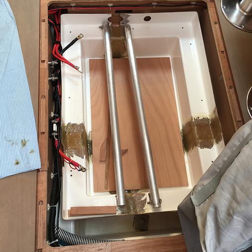 Rebuilt battery box/tray