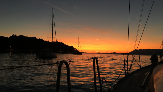 60 days in Croatia, 40 free anchorages