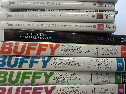 buffy, y the last man, tegneserier