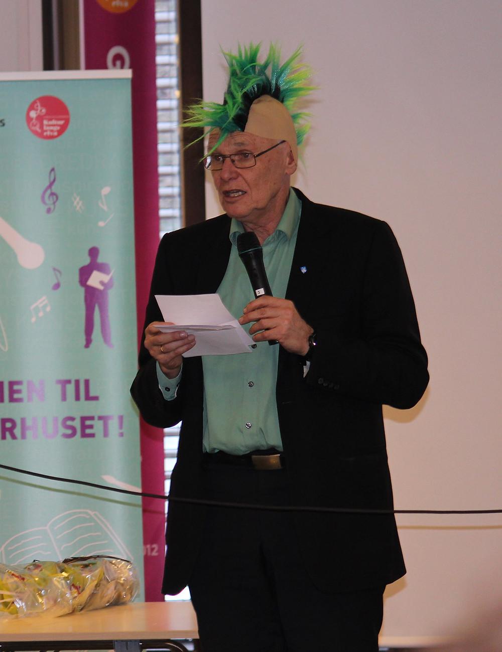 Popkultåpning ordfører Bjørn Iddberg