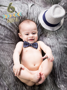 6 Month baby Portrait