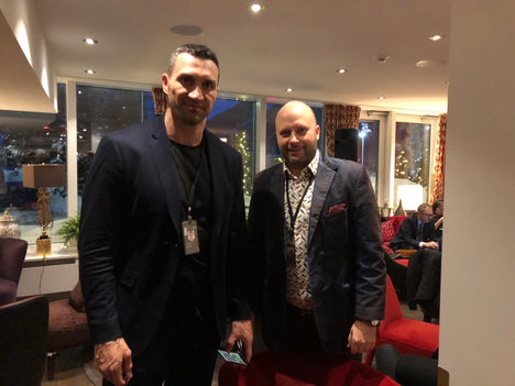 Box WorldStar Wladimir Klitschko, Ivan Dimitrov