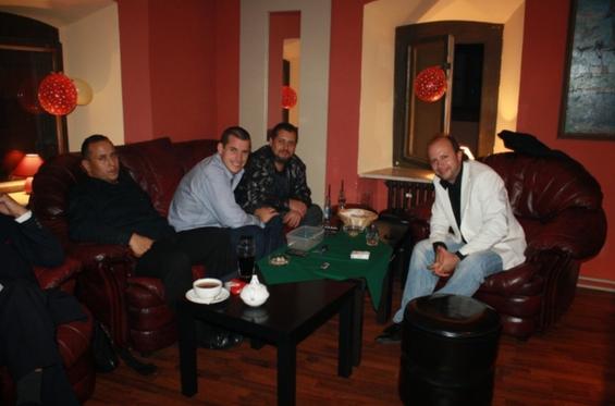 Eugen Vizváry, Martin Valihora, Oskar Rózsa, Ivan Dimitrov