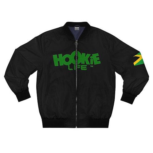 HL by HookieLife Back Ah Yaad Bomber Jacket