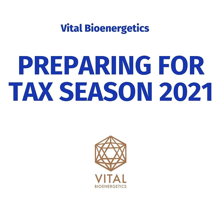 Preparing for Tax Season 2021