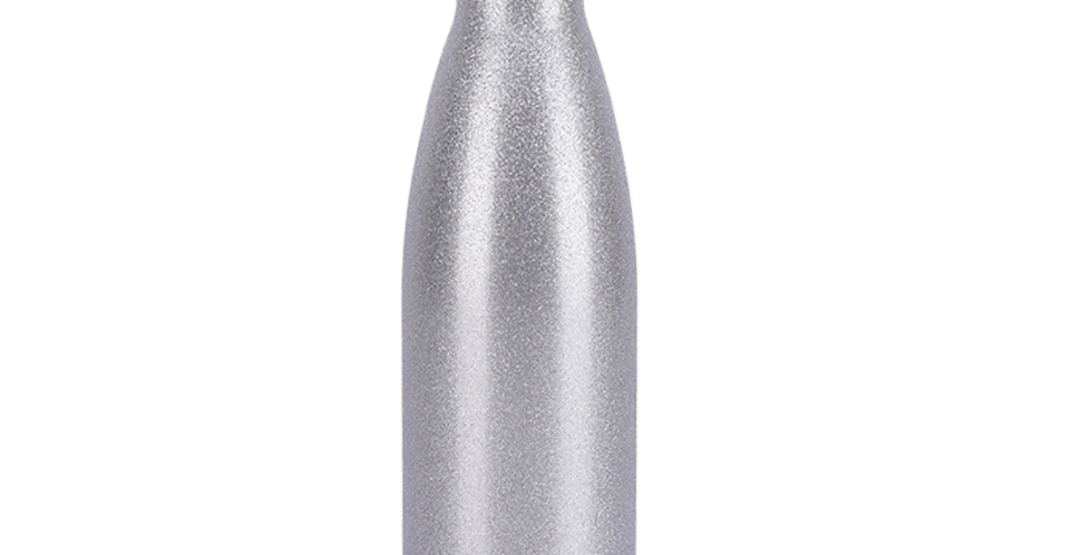 Daily Bottle - Silver Glitter